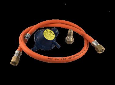 Kit tuyau et détendeur gaz pour la Suisse