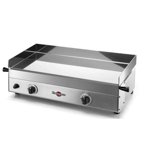 Plancha Inox Gaz Design Double