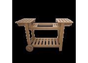 Chariot bois pour plancha Simogas