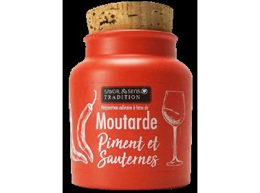 Moutarde au piment d'Espelette et Sauternes