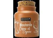Moutarde aux cèpes et cognac
