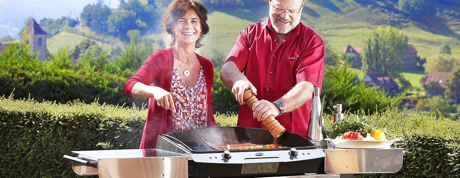 Réinventez la cuisine d'extérieur